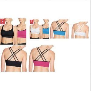 Champion Women's Seamless 2-Pack Criss Cross Sport